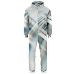 Business Background Abstract Hooded Jumpsuit (Men)