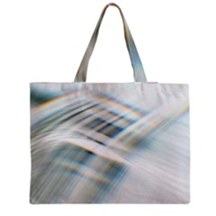 Business Background Abstract Medium Zipper Tote Bag
