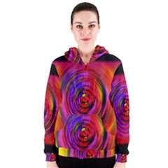Colors Of My Life Women s Zipper Hoodie