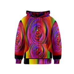 Colors Of My Life Kids  Zipper Hoodie