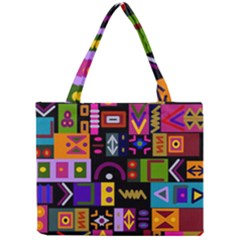 Abstract A Colorful Modern Illustration Mini Tote Bag