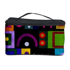 Abstract A Colorful Modern Illustration Cosmetic Storage Case