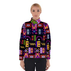 Abstract A Colorful Modern Illustration Winterwear
