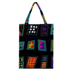 Abstract A Colorful Modern Illustration Classic Tote Bag