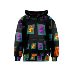 Abstract A Colorful Modern Illustration Kids  Pullover Hoodie