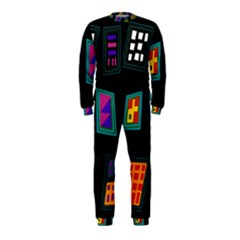 Abstract A Colorful Modern Illustration OnePiece Jumpsuit (Kids)