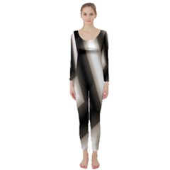Abstract Hintergrund Wallpapers Long Sleeve Catsuit