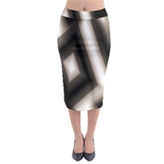 Abstract Hintergrund Wallpapers Midi Pencil Skirt