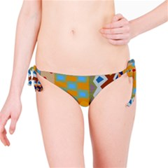 Abstract A Colorful Modern Illustration Bikini Bottom