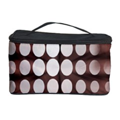 Technical Background With Circles And A Burst Of Color Cosmetic Storage Case