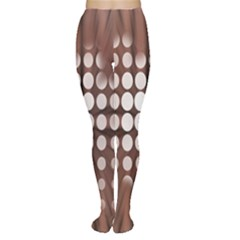 Technical Background With Circles And A Burst Of Color Women s Tights