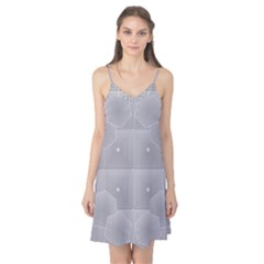 Grid Squares And Rectangles Mirror Images Colors Camis Nightgown