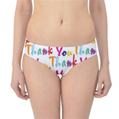 Wallpaper With The Words Thank You In Colorful Letters Hipster Bikini Bottoms