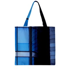 Modern Office Window Architecture Detail Zipper Grocery Tote Bag