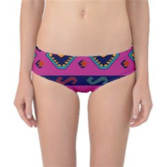 Abstract A Colorful Modern Illustration Classic Bikini Bottoms