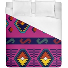 Abstract A Colorful Modern Illustration Duvet Cover (california King Size)