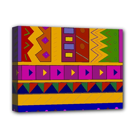 Abstract A Colorful Modern Illustration Deluxe Canvas 16  X 12