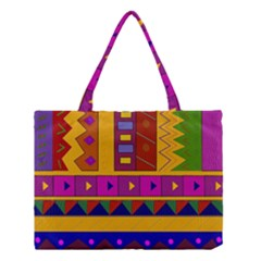 Abstract A Colorful Modern Illustration Medium Tote Bag