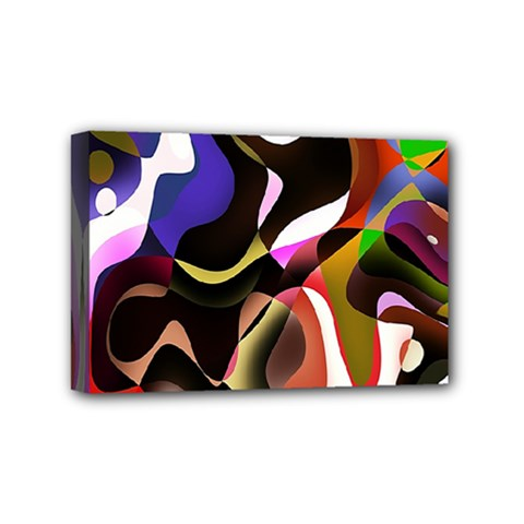 Colourful Abstract Background Design Mini Canvas 6  X 4
