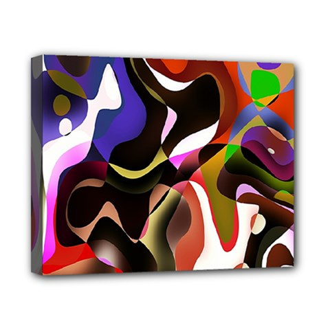 Colourful Abstract Background Design Canvas 10  x 8