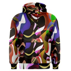 Colourful Abstract Background Design Men s Pullover Hoodie