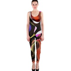 Colourful Abstract Background Design OnePiece Catsuit