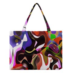Colourful Abstract Background Design Medium Tote Bag