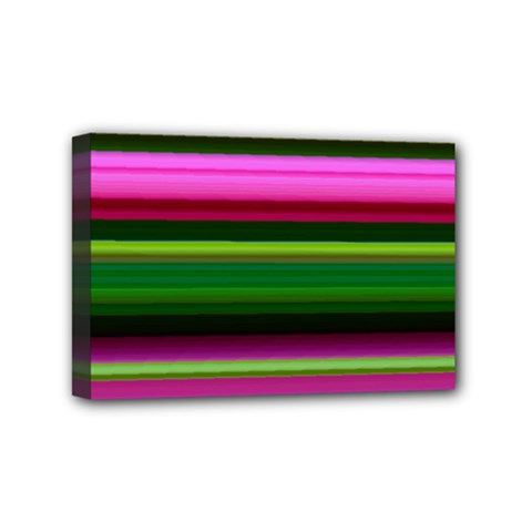 Multi Colored Stripes Background Wallpaper Mini Canvas 6  X 4