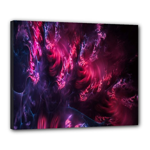 Abstract Fractal Background Wallpaper Canvas 20  X 16