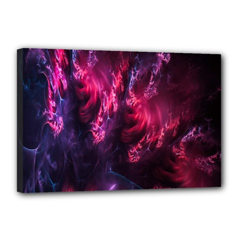 Abstract Fractal Background Wallpaper Canvas 18  X 12