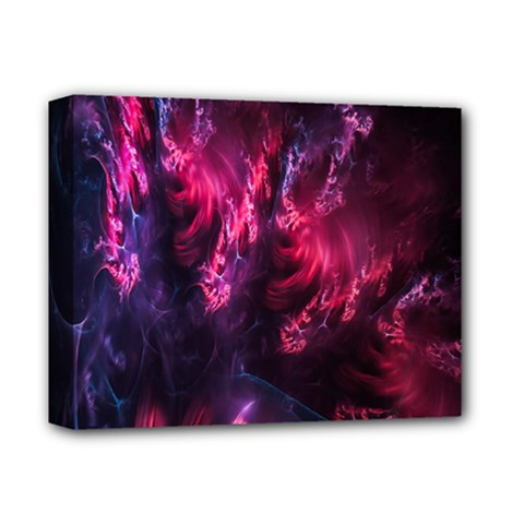 Abstract Fractal Background Wallpaper Deluxe Canvas 14  x 11