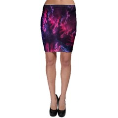 Abstract Fractal Background Wallpaper Bodycon Skirt