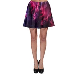 Abstract Fractal Background Wallpaper Skater Skirt