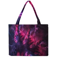 Abstract Fractal Background Wallpaper Mini Tote Bag