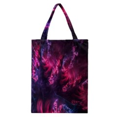Abstract Fractal Background Wallpaper Classic Tote Bag