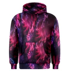 Abstract Fractal Background Wallpaper Men s Pullover Hoodie
