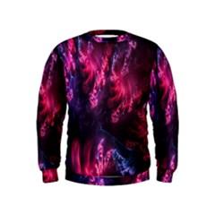 Abstract Fractal Background Wallpaper Kids  Sweatshirt