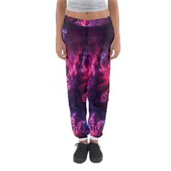 Abstract Fractal Background Wallpaper Women s Jogger Sweatpants