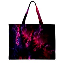 Abstract Fractal Background Wallpaper Zipper Mini Tote Bag