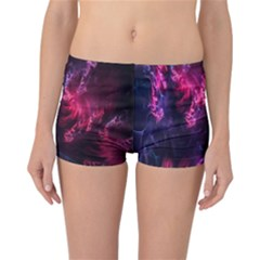 Abstract Fractal Background Wallpaper Reversible Bikini Bottoms