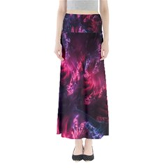 Abstract Fractal Background Wallpaper Maxi Skirts
