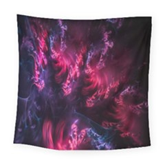 Abstract Fractal Background Wallpaper Square Tapestry (large)
