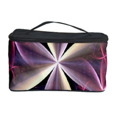 Pink And Cream Fractal Image Of Flower With Kisses Cosmetic Storage Case