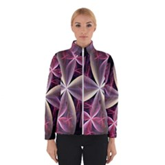 Pink And Cream Fractal Image Of Flower With Kisses Winterwear