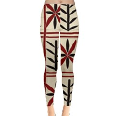 Abstract A Colorful Modern Illustration Pattern Leggings