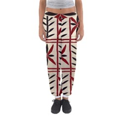 Abstract A Colorful Modern Illustration Pattern Women s Jogger Sweatpants