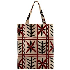 Abstract A Colorful Modern Illustration Pattern Zipper Classic Tote Bag