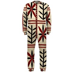 Abstract A Colorful Modern Illustration Pattern OnePiece Jumpsuit (Men)