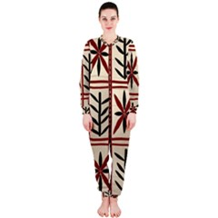 Abstract A Colorful Modern Illustration Pattern Onepiece Jumpsuit (ladies)