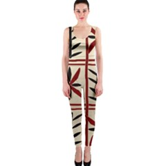 Abstract A Colorful Modern Illustration Pattern OnePiece Catsuit